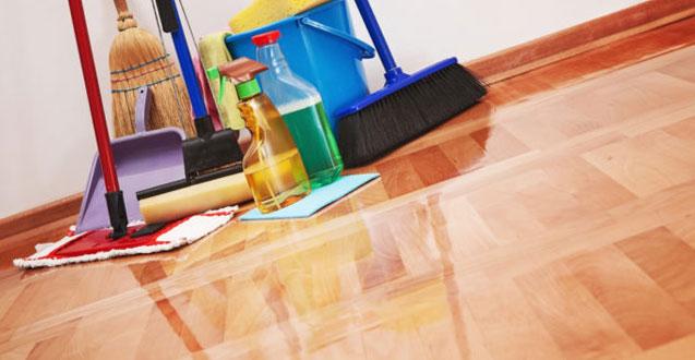 почистване ан настилки след ремонт
