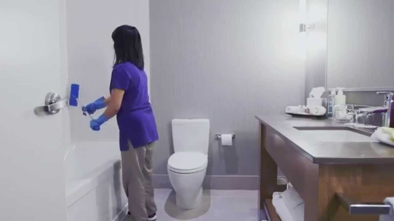 почистване на банята и тоалетната