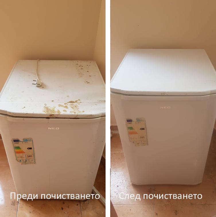 почистване на кухненски уреди