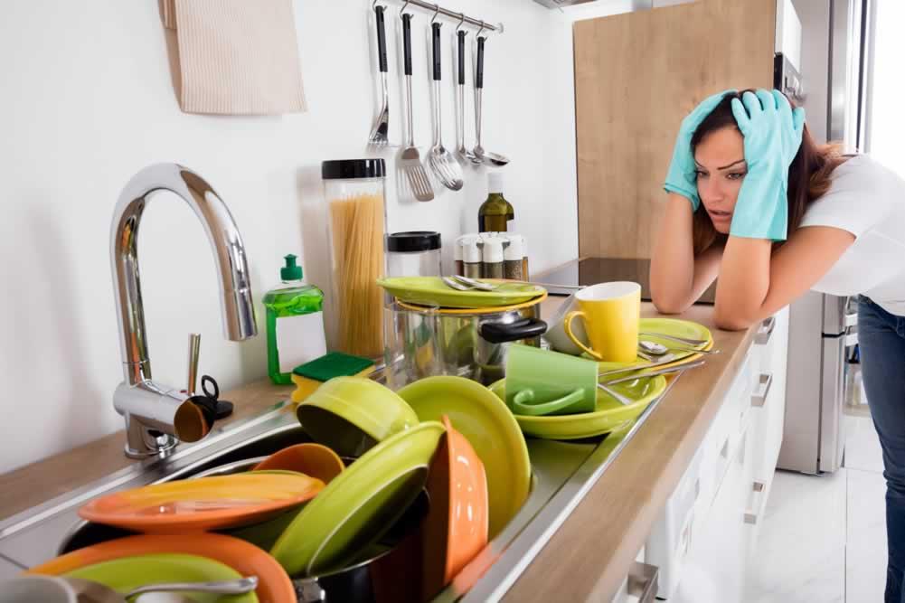 как да почистим кухня