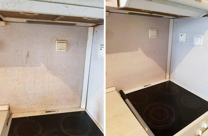 почистване на готварска печка