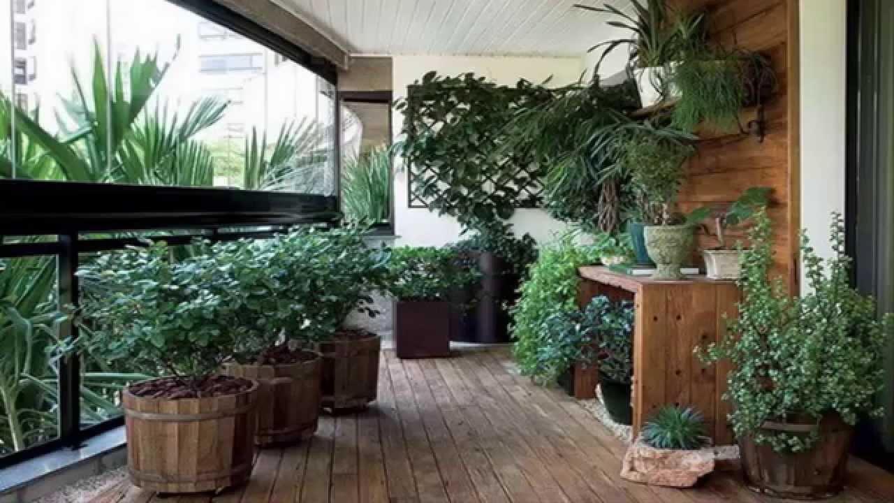 озеленяване на балкон