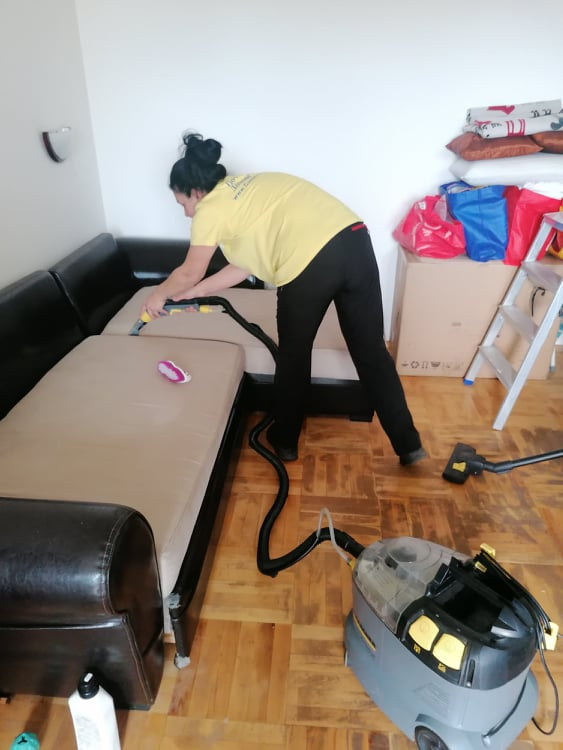 Професионално почистване в квартал Витоша