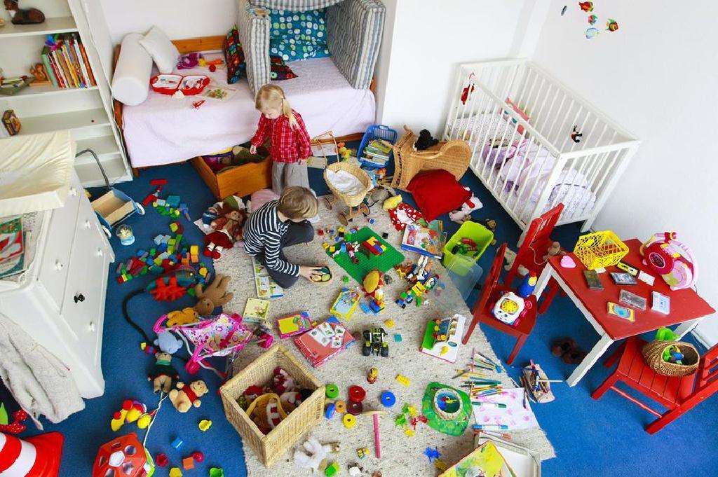 почистване на детска стая